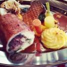 On ne lésine pas sur la truffe et le foie gras!
