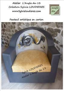 loudieres sylvie Création design en carton