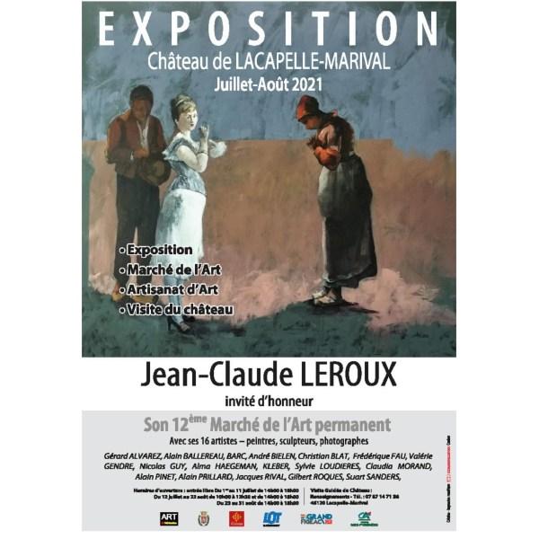 Exposition au Château de Lacapelle Marival (Lot)