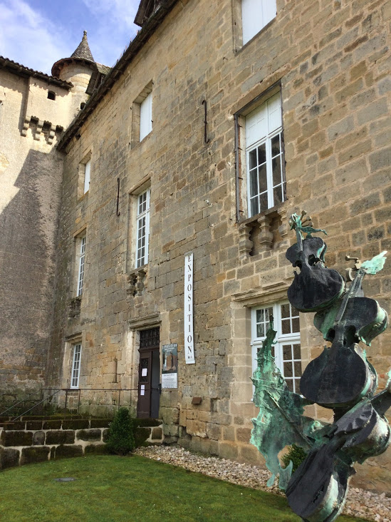Exposition Château Lacapelle Marival Photo Sylvie LOUDIERES