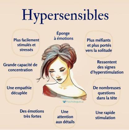 hypersensible et émotions