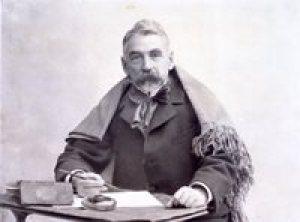 Stéphane Mallarmé au châle 1895 Photographie P. Nadar