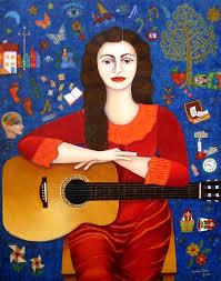 Violeta Parra par Madalena Lobao-Tello