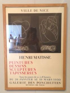 Affiche de la main de Matisse
