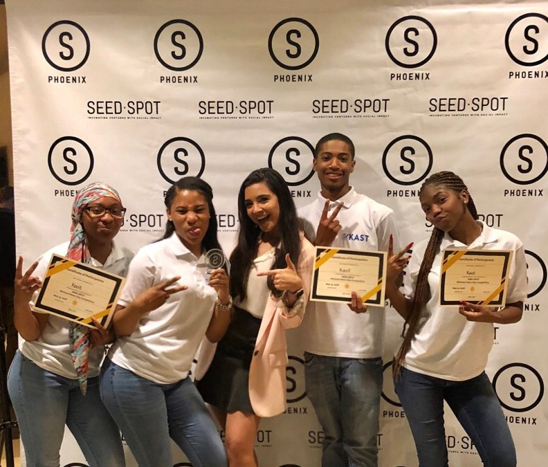 Mentoring the Next Generation of Social Entrepreneurs at SEED Spot High School Demo Day