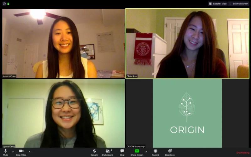 origin bootcamp zoom call