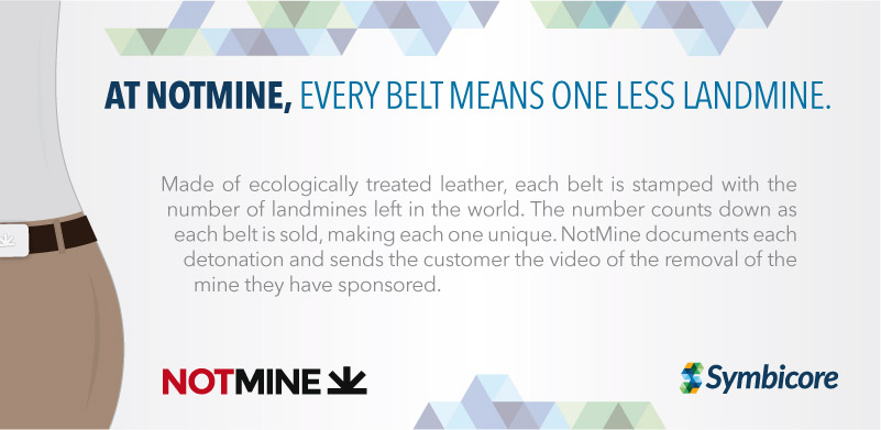 At NotMine, every belt means one less landmine.