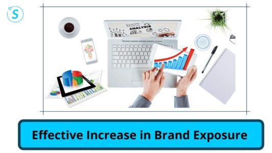 Effective Increase in Brand Exposure