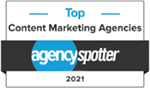 Agencyspotter 2021 Top Content Marketing Agency