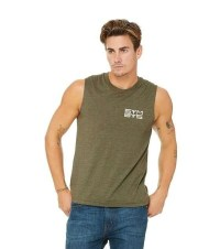 SYMBYS Mens/Unisex Muscle Tank