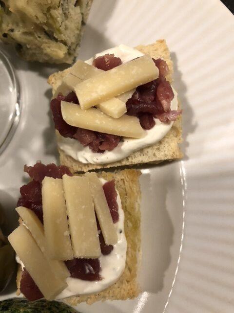 Carpaccio på toast