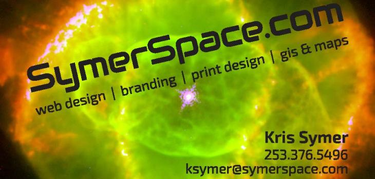 SymerSpace business card
