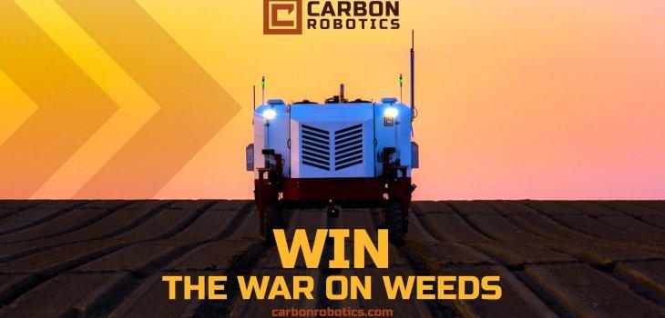 Carbon Robotics: Win the war on weeds