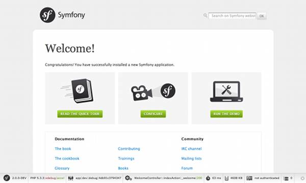 Symfony Quick Tour: The Big Picture