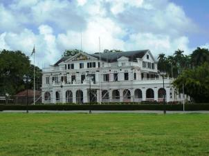 The presidential palace, Paramaribo