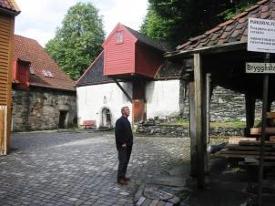 The old quarter of Bergen