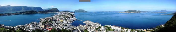 Ålesund panorama