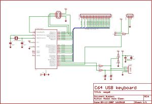 SYMLiNKDK  C64 USB Keyboard