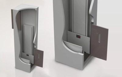 Symmetry Shaftway Lift vertical platform lift
