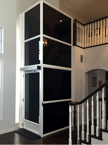 Enclosed Lift - residential vertical platform lift