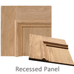 Symmetry Home Elevator cab panel - Recessed Panel