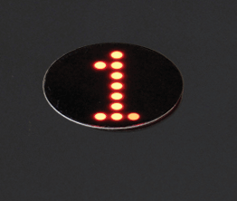 Home Elevator Control Operating Panel Amber Position Indicator