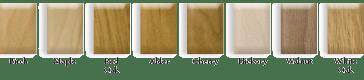 Wood Species Options for Home Elevator Fixtures