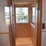 Symmetry Residential Elevator Windows in Car