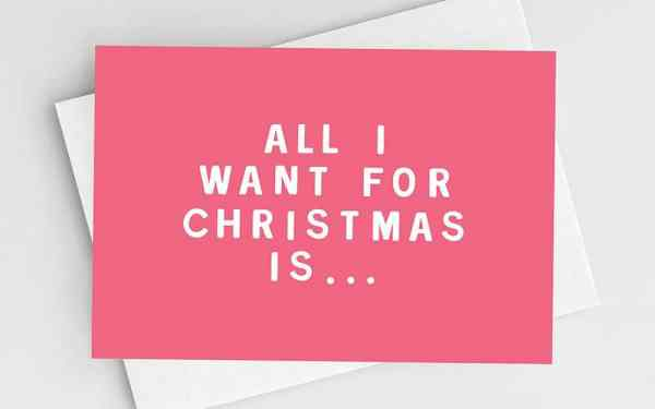 All I Want For Christmas An ECommerce Marketing Carol