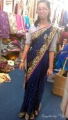 That time I tried on a sari...just because.
