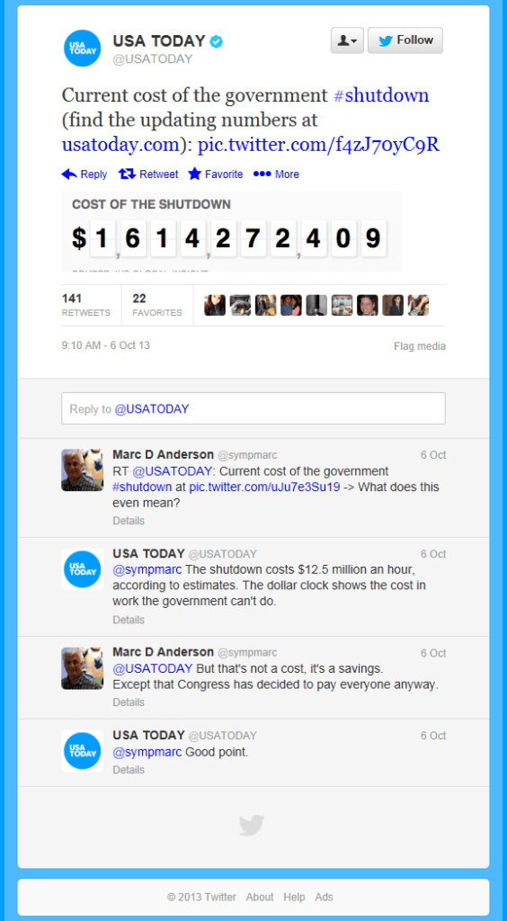 USAToday Tweets
