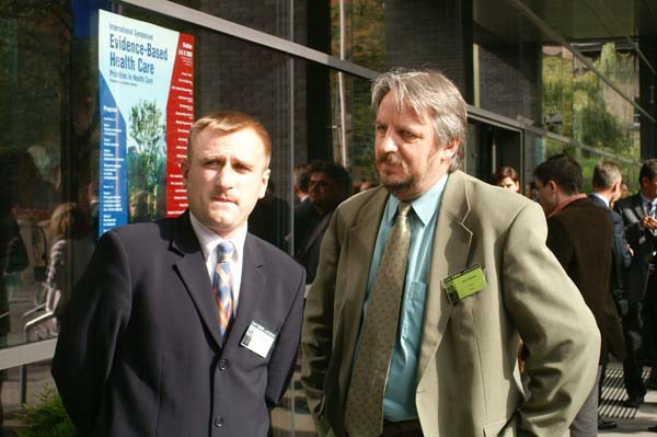 Jacek Siwiec i Józef Stępień