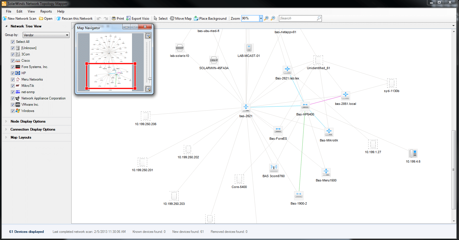 M Acces Diagram