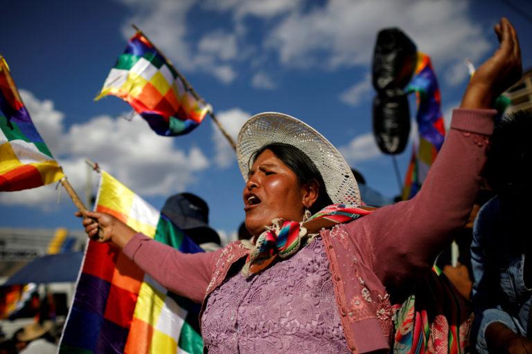 O Βολιβιανός λαός νίκησε το σκοτάδι!