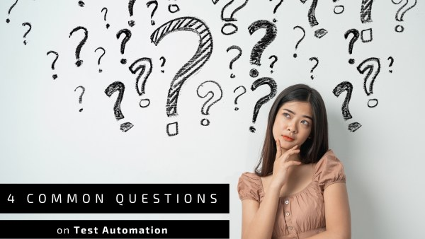 banner common questions on test automation