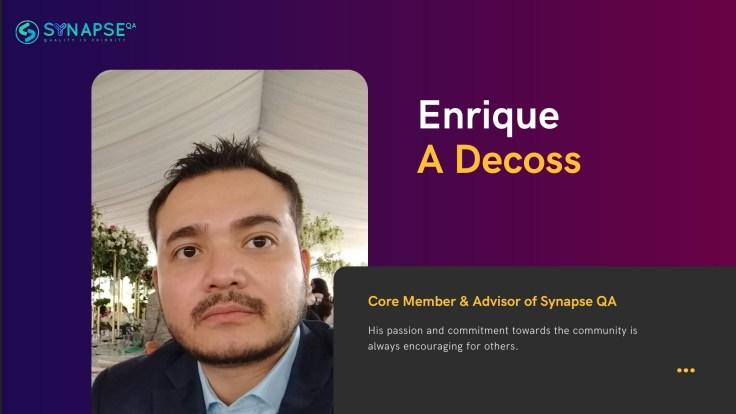Enrique A Decoss