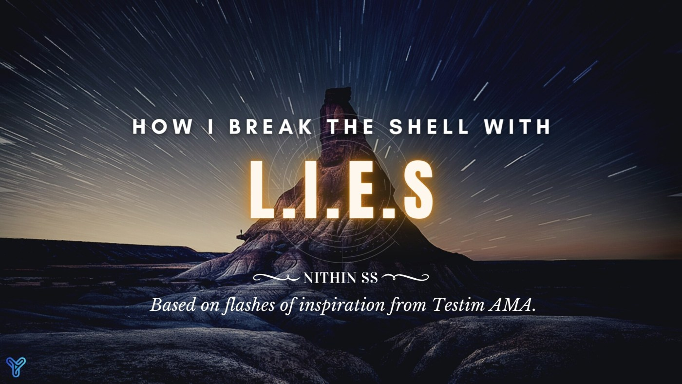 How I break the shell with L.I.E.S banner