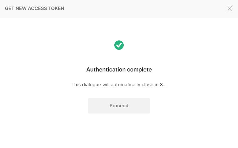 new token
