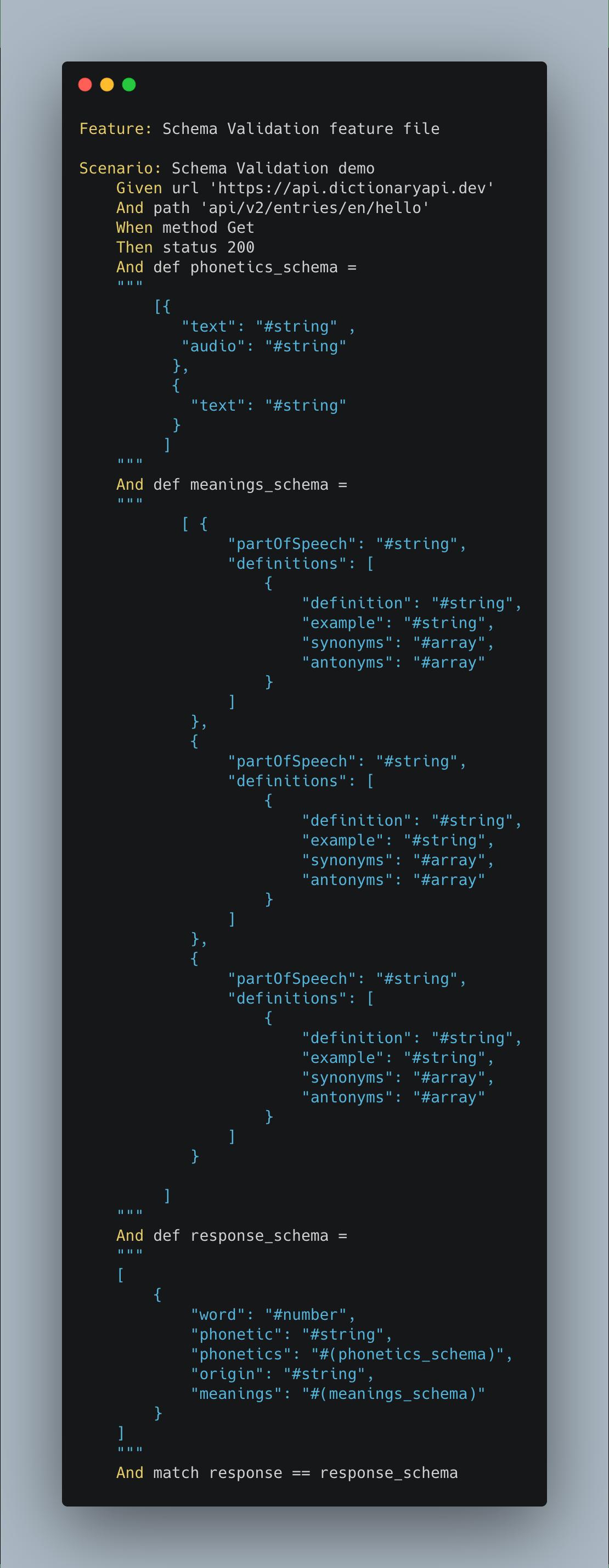 failure feature file