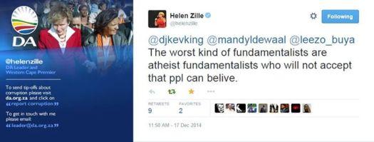 Worst kind of fundamentalists