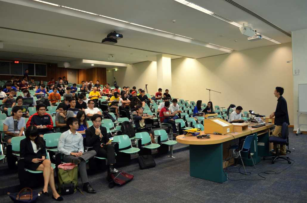 Guest Speaker at NTU | Learning to Delve into Market News