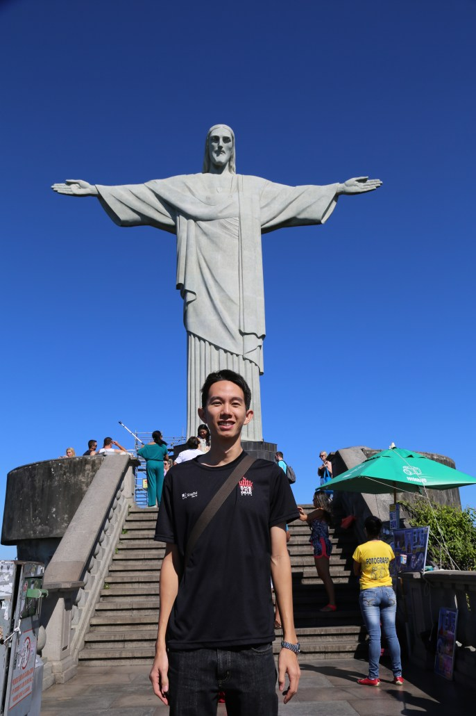 Christ the Redeemer! One of the 7 Wonders!