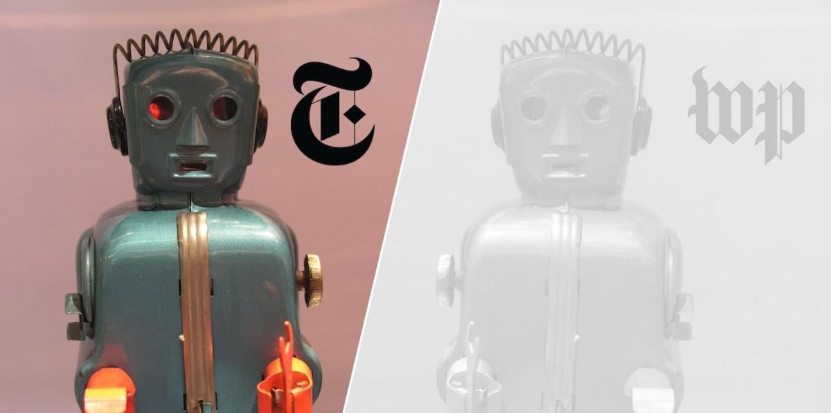 Periodismo: la liberación de los robots