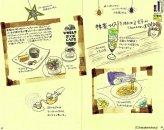 モレスキン絵日記(札幌、友人たちに連れて行ってもらった素敵カフェ その2)
