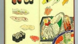 お寿司イラストを描くのが楽しすぎる件(モレスキンのフードスケッチ)
