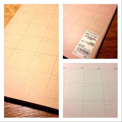 ひとこま絵日記のススメ。まずはこのノートをゲットする。