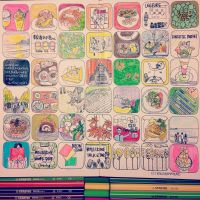 マンスリーのモレスキン絵日記。フレーミング手法で2ヶ月分の記憶から厳選してお送りしています。