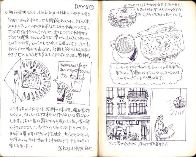 オスロ旅日記(モレスキン)
