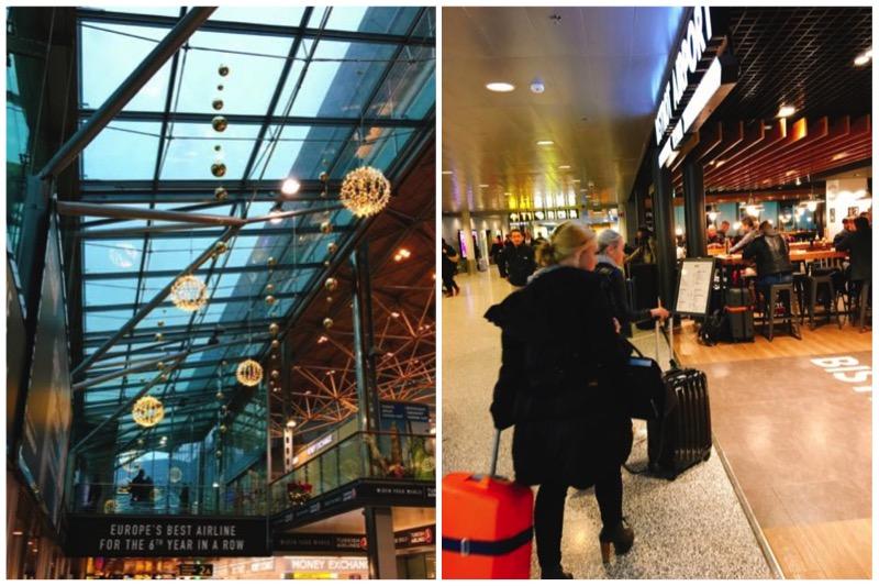 ヘルシンキのヴァンター空港の様子。