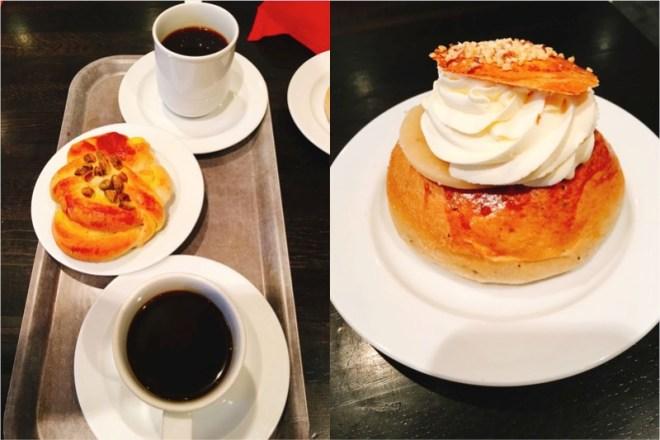 Konditoria Cafe Briossiでシナモンロール